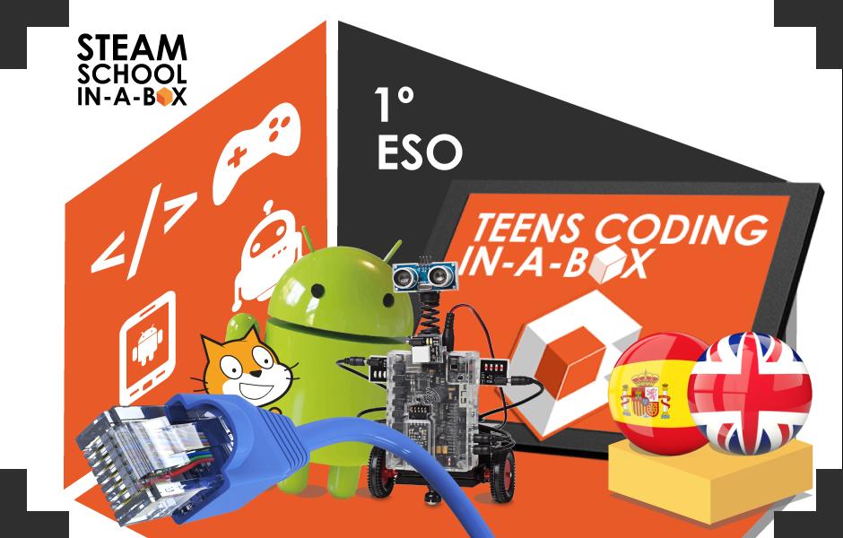 Teens Coding in-a-box: Tecnología, programación y robótica 1º ESO