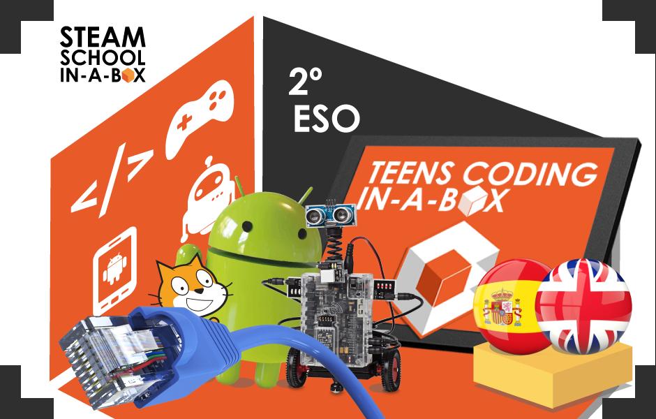 Teens Coding in-a-box: Tecnología, programación y robótica 2º ESO
