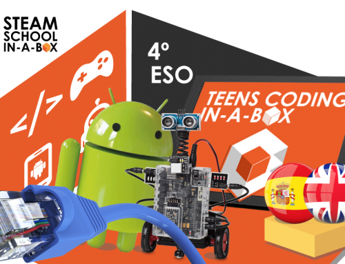 4º DE SECUNDARIA: TECNOLOGÍA. TEENS CODING IN-A-BOX
