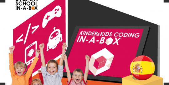 Programación Infantil Kinder & Kids Coding / Infant-Lower Primary School Programming