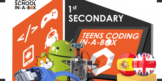 Teens Coding In-a-box 1º ESO / 1st SECONDARY