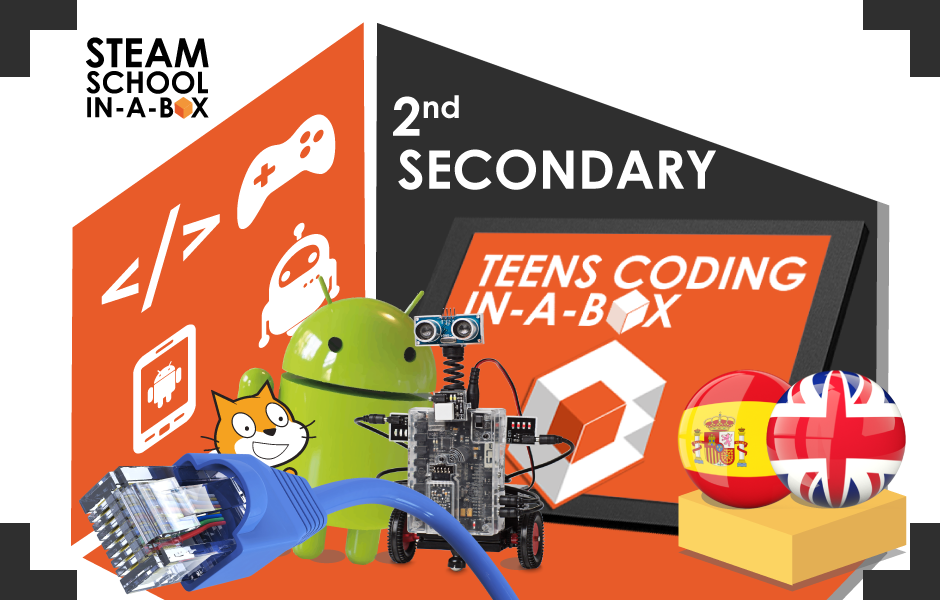 Teens Coding In-a-box 2º ESO / 2nd SECONDARY