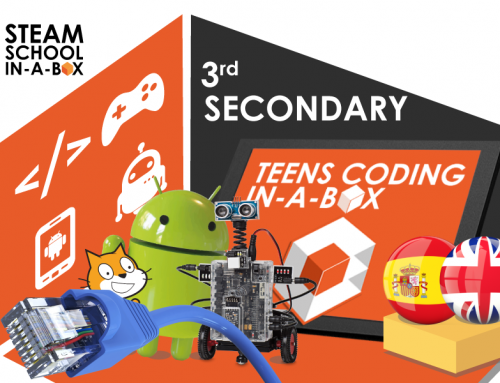 3rd SECONDARY: TECHNOLOGY, PROGRAMMING AND ROBOTICS