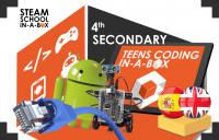 Teens Coding In-a-box 4º ESO / 4th SECONDARY