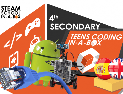 4th SECONDARY TECHNOLOGY. TEENS CODING IN-A-BOX