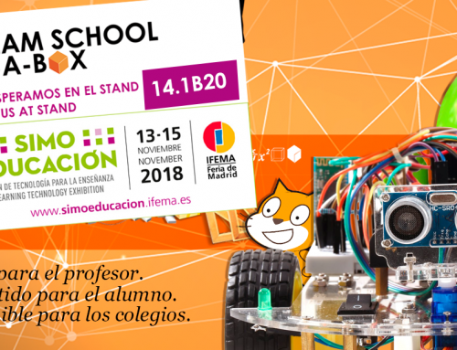 STEAM SCHOOL IN-A-BOX IN SIMO EDUCACIÓN 2018 (IFEMA)