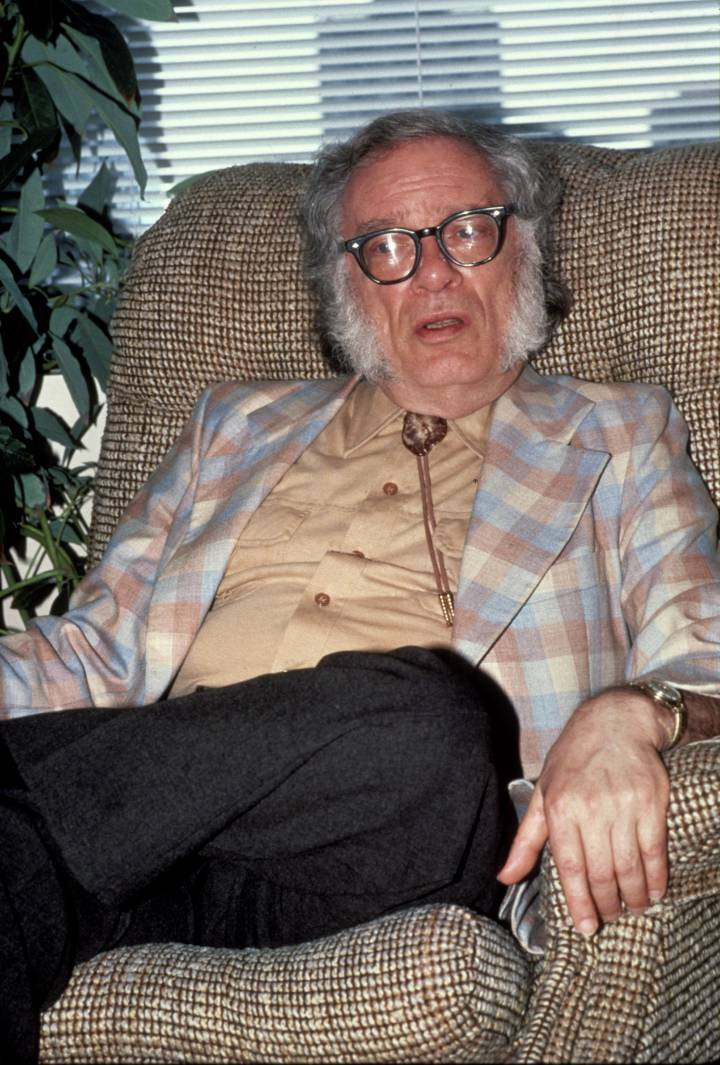 Isaac Asimov en 1983. Getty Images