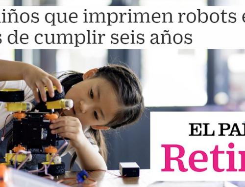 EL PAÍS Retina – Los niños que imprimen robots en 3D antes de cumplir seis años