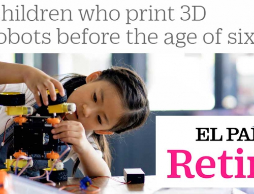 EL PAÍS Retina – Children that learn how to 3D print robots before the age of six