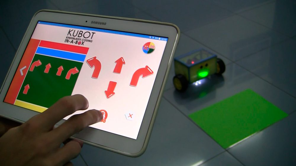 App Kubot Kinder & Kids Coding In-a-box