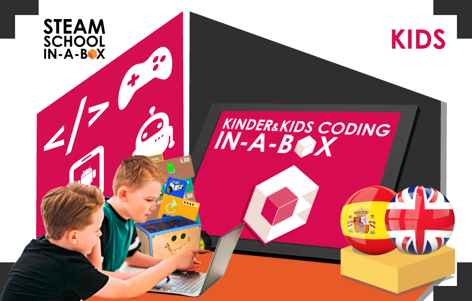 Kinder & Kids Coding In-a-box: KIDS