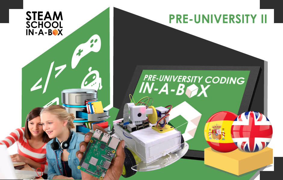 Pre-University Coding In-a-box II