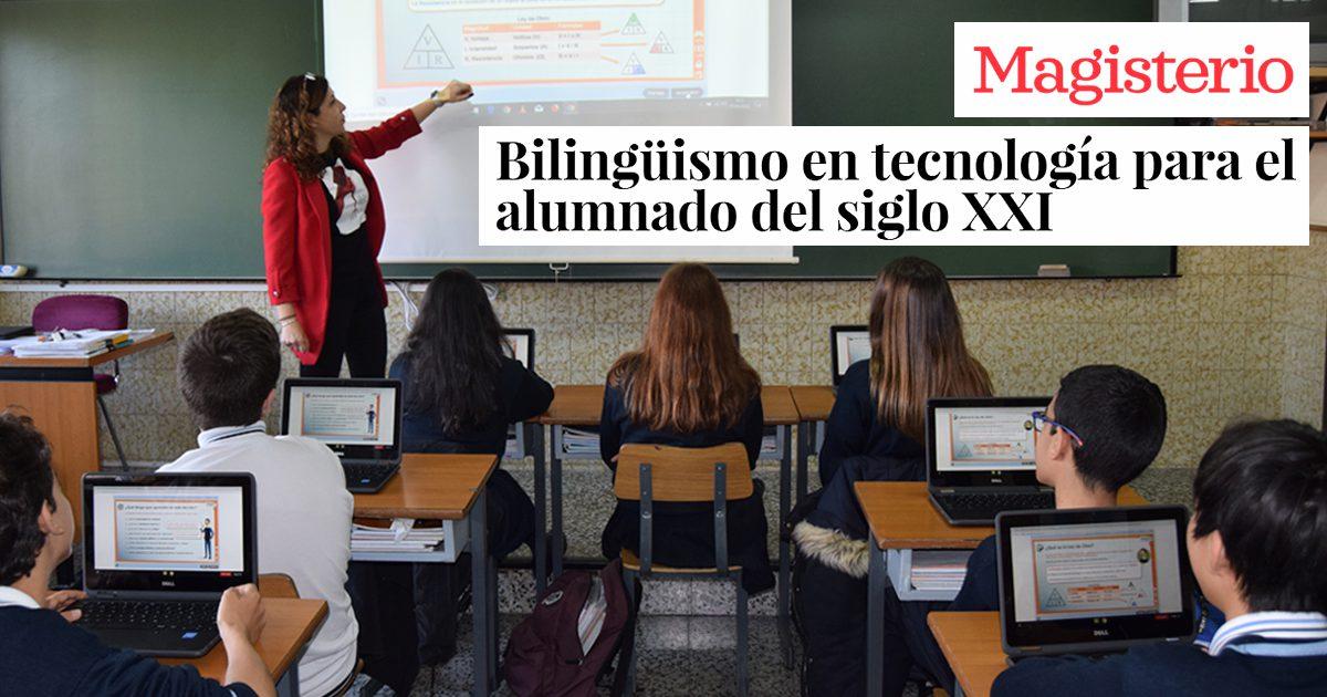 Bilingüismo en tecnología para el alumnado del siglo XXI