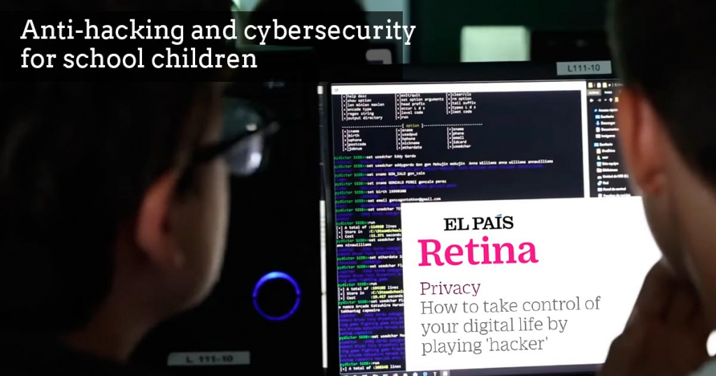 Antihacking and cybersecurity for school children