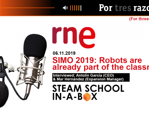 RNE – For three reasons – SIMO 2019: Robots are already part of the classrooms