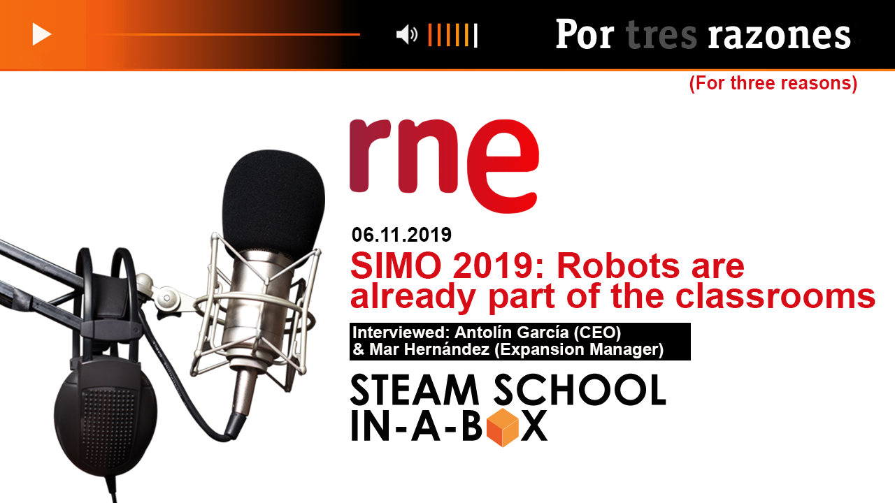 RNE Radio Interview NOV19 SIMO