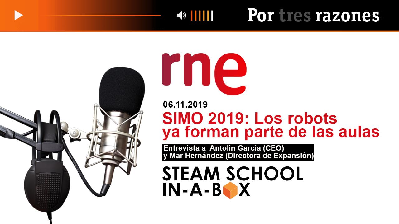 RNE Entrevista SIMO19