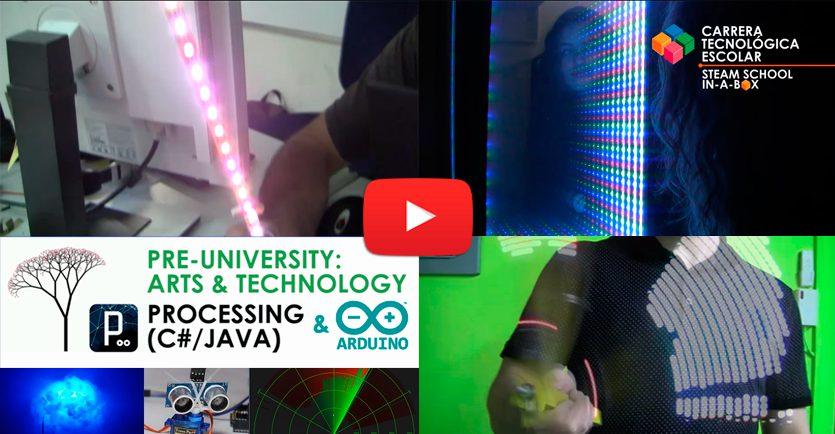 Pre-University: Arts & Technology (Processing)