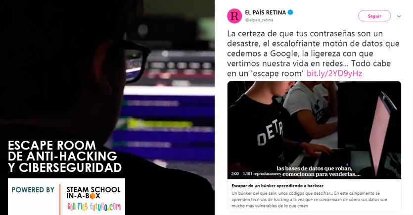 Escape Room Antihacking y Ciberseguridad