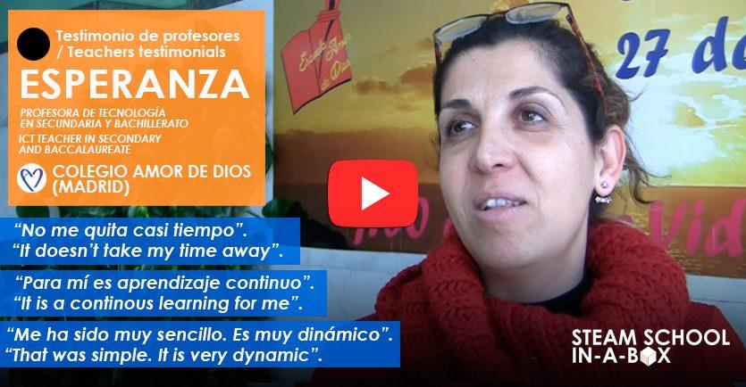 Testimonio profesores Colegio Amor de Dios (Madrid)
