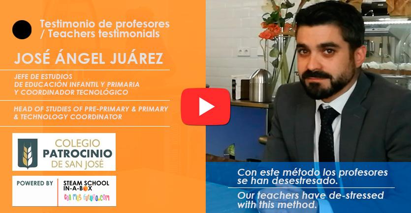 Testimonio Jefe de Estudios Colegio Patrocinio de San José