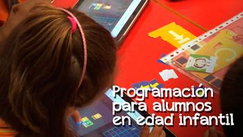 Programación para alumnos en edad infantil