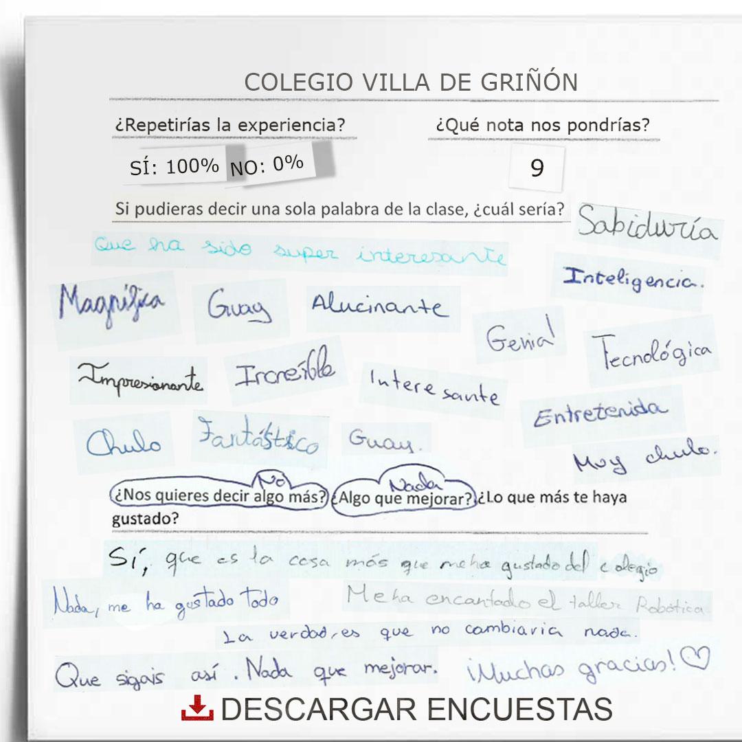 Encuestas colegio Villa de Griñón
