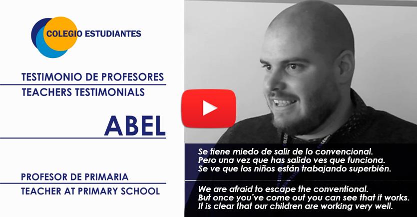 Testimonio profesor colegio Estudiantes Las Tablas (Madrid)