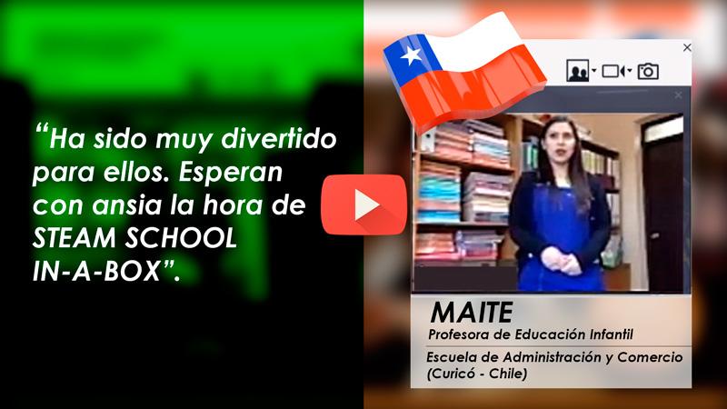 Testimonio Profesora Chile