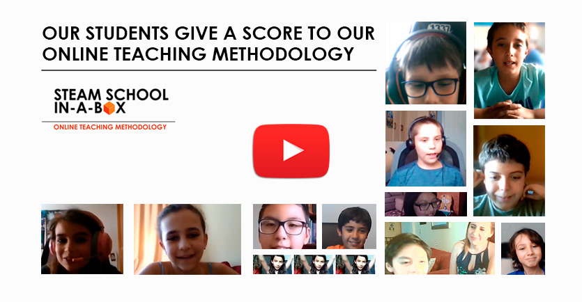Our students give a score to our online teaching methodology