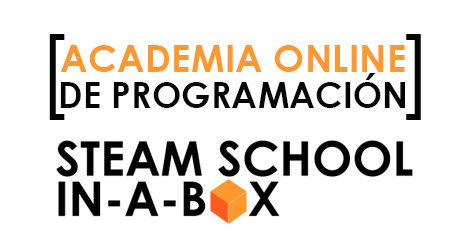 ACADEMIA ONLINE DE PROGRAMACIÓN STEAM SCHOOL IN-A-BOX