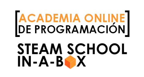 ACADEMIA DE PROGRAMACIÓN ONLINE STEAM SCHOOL IN-A-BOX