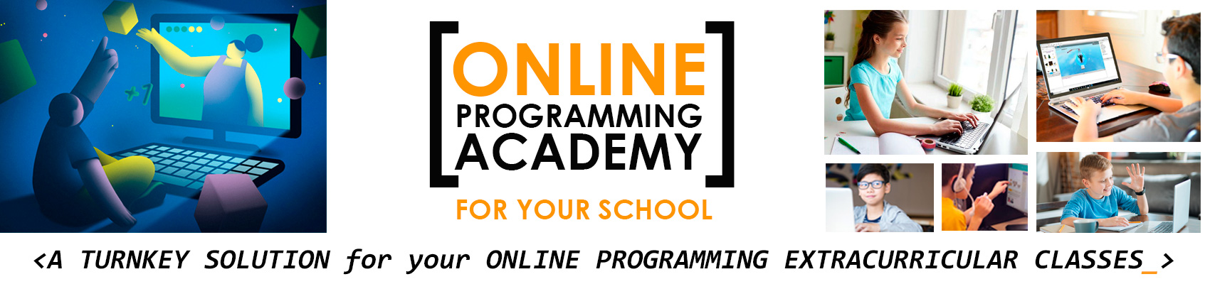 Online Programming Academy for your school