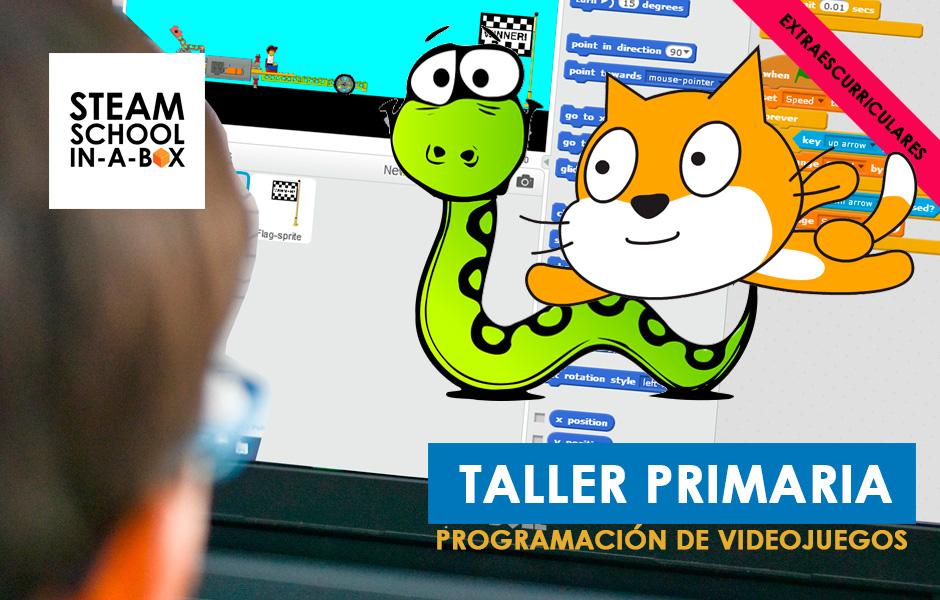 TALLER PRIMARIA EXTRACURRICULAR PROGRAMACIÓN DE VIDEOJUEGOS
