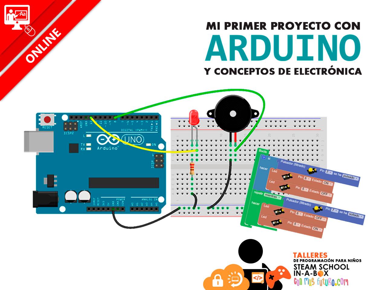 Taller Online Mi primer Proyecto con Arduino