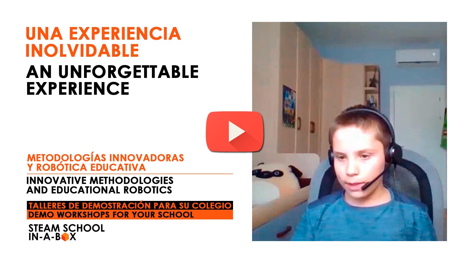 Tecnologías Innovadoras y robótica educativa - Talleres para colegios